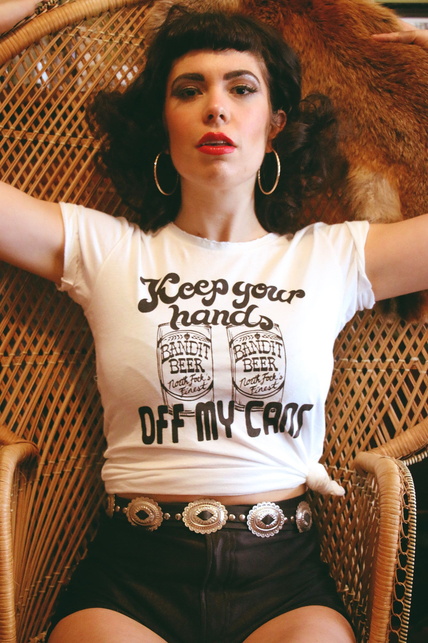 Hands Off My Cans Tee