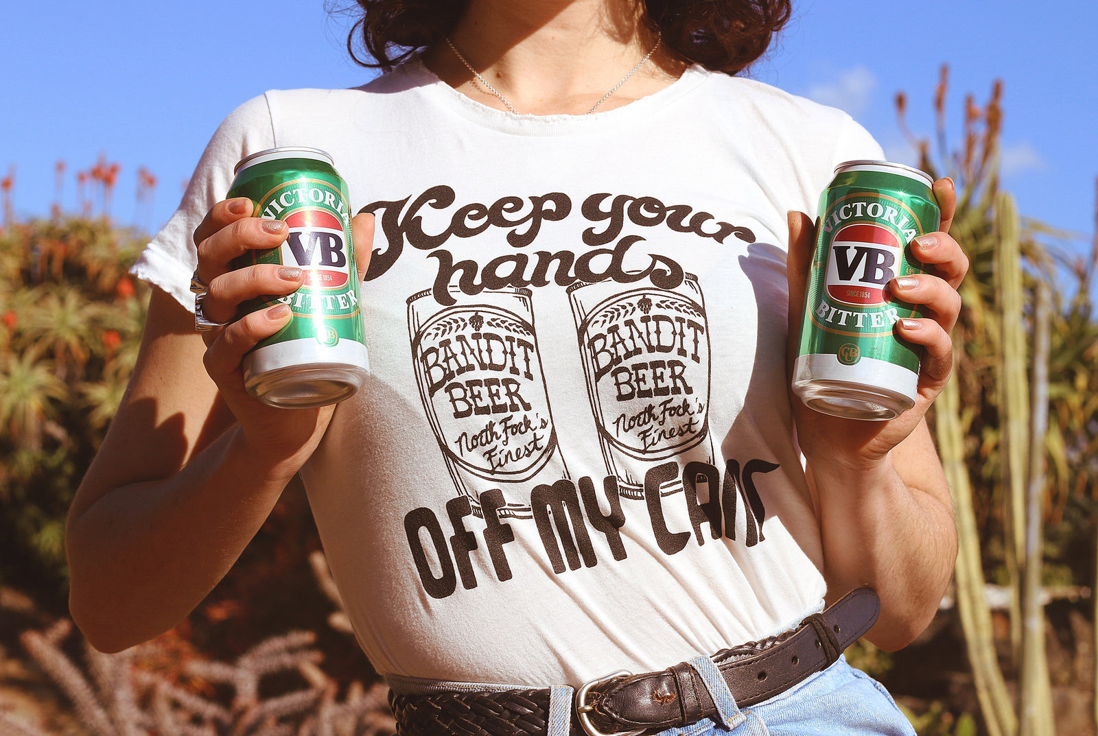 Hands Off My Cans Tee (Pre Order)