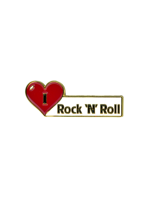 I Love Rock n Roll Metal Pin