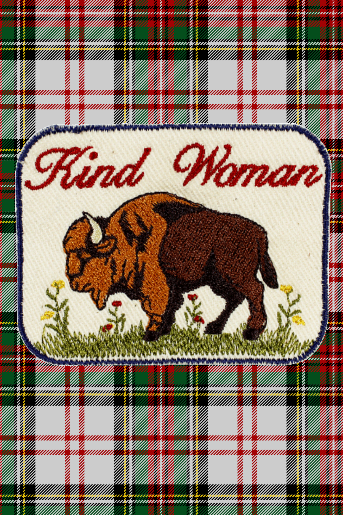 Kind Woman Patch