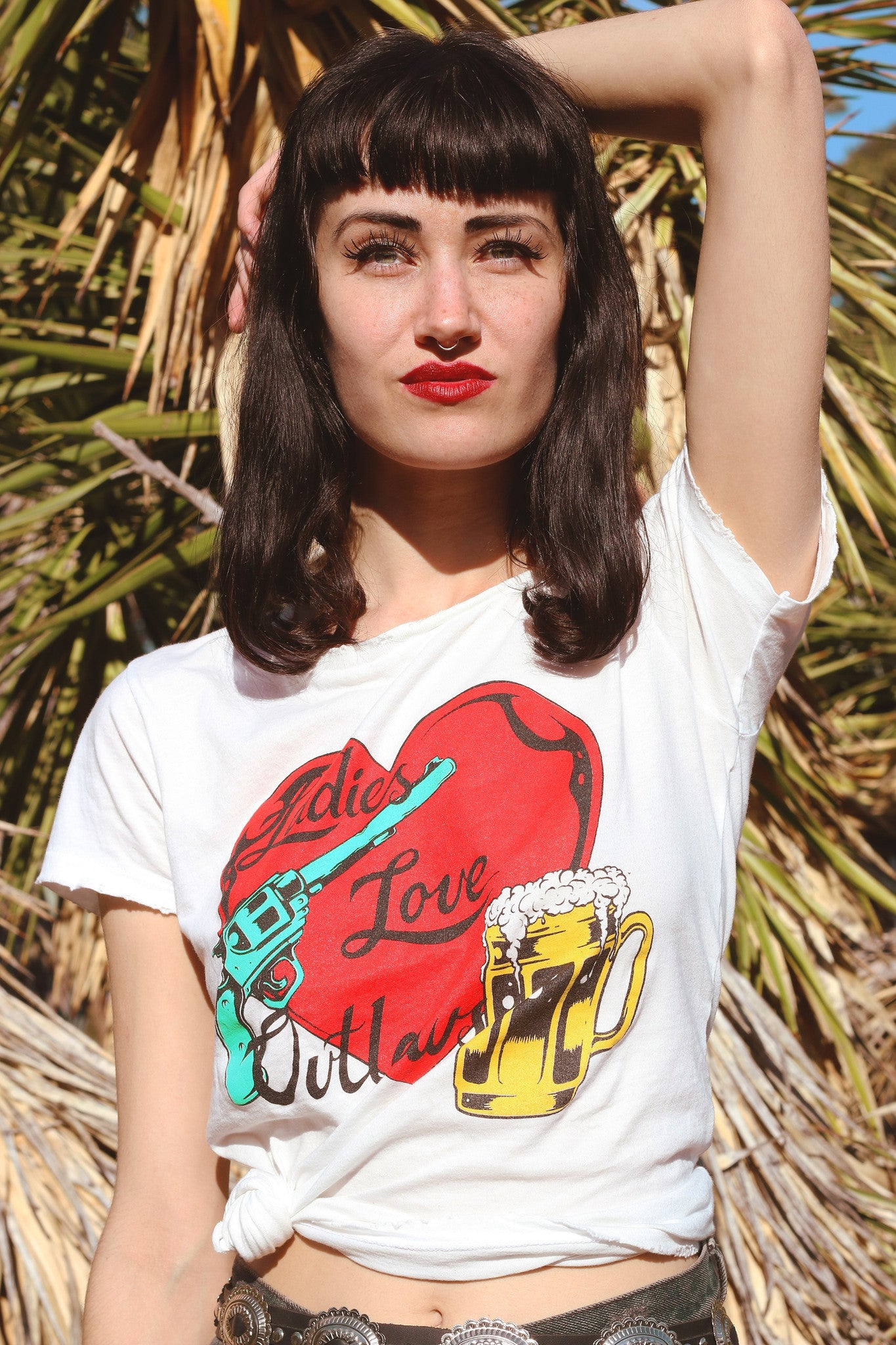 Ladies Love Outlaws Tee