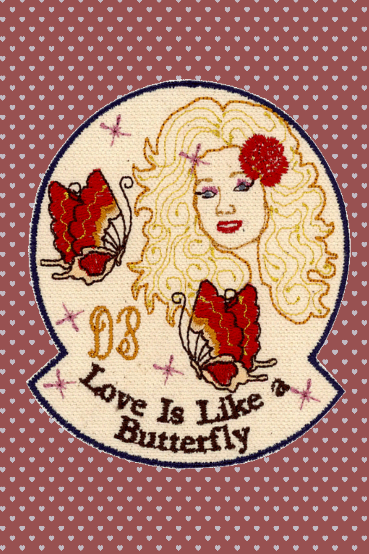 Love is Like a Butterfly Patch (Last One)