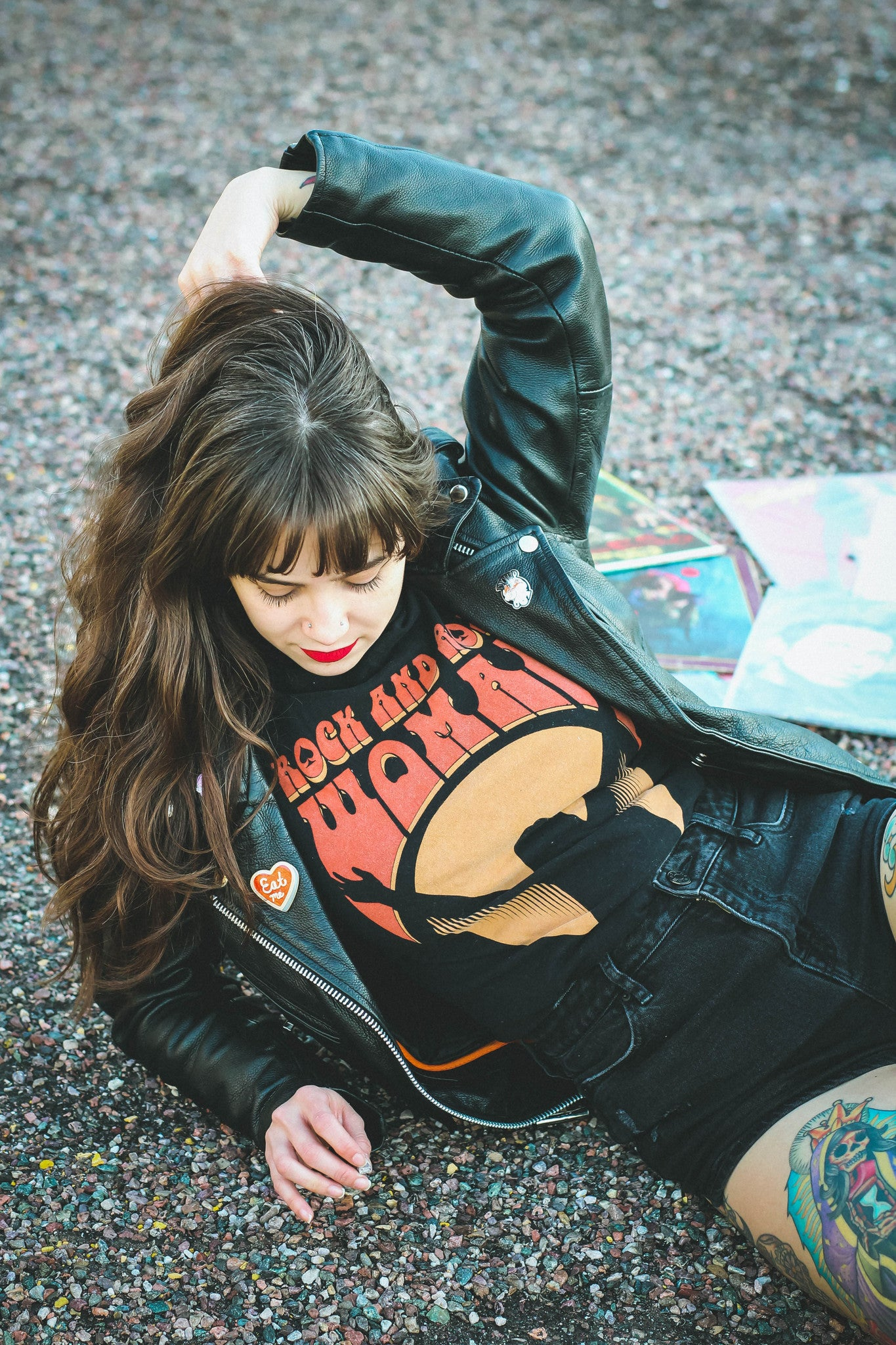 Rock and Roll Woman Tee