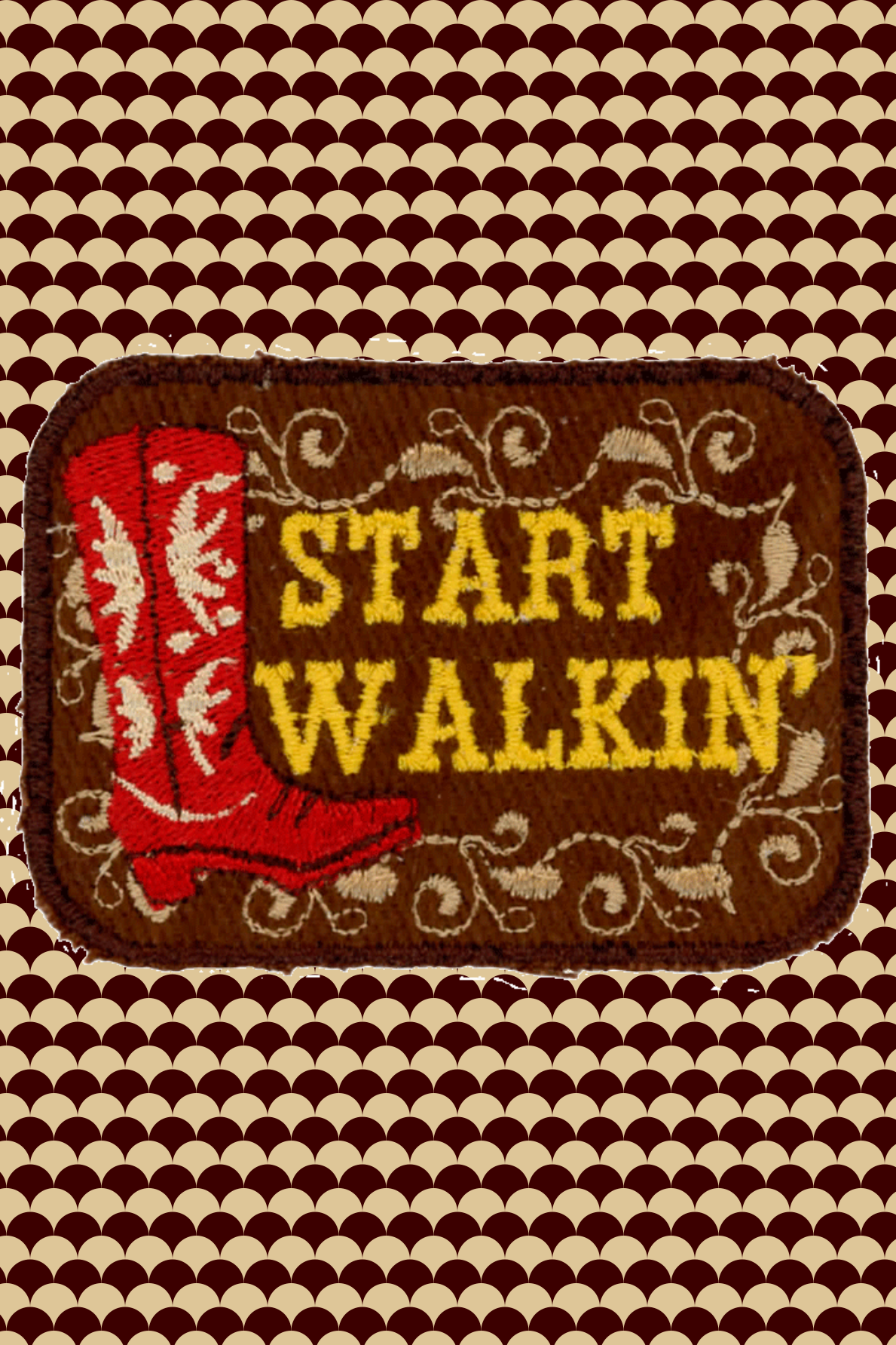 Start Walkin' Patch (Last One)