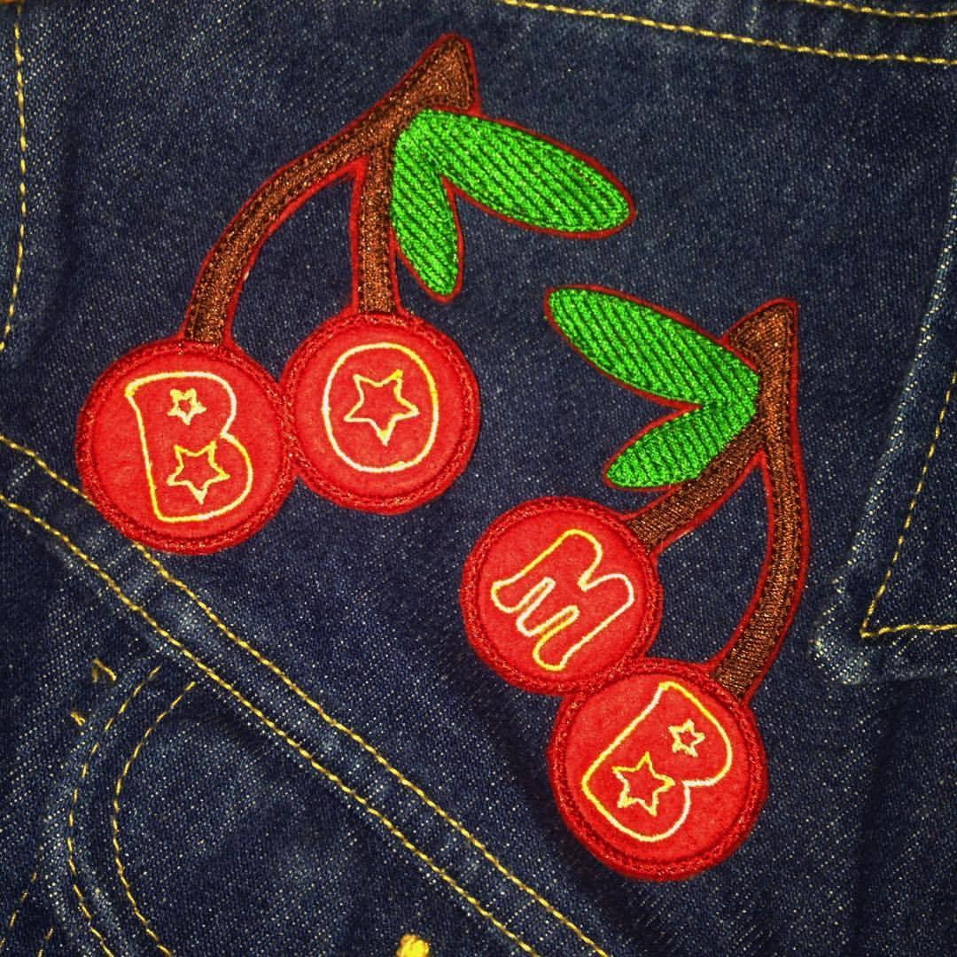 Cherry Bomb Patch Set (Last One)