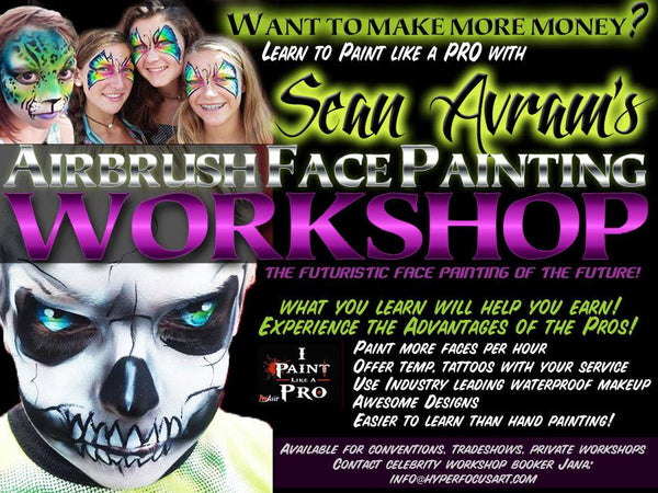 Face & Body Art Hands On Workshops