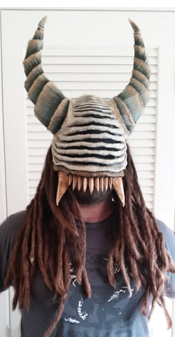 "Manic Mart ""Justiciar"" Demon Skull Mask - Your Custom Mask"