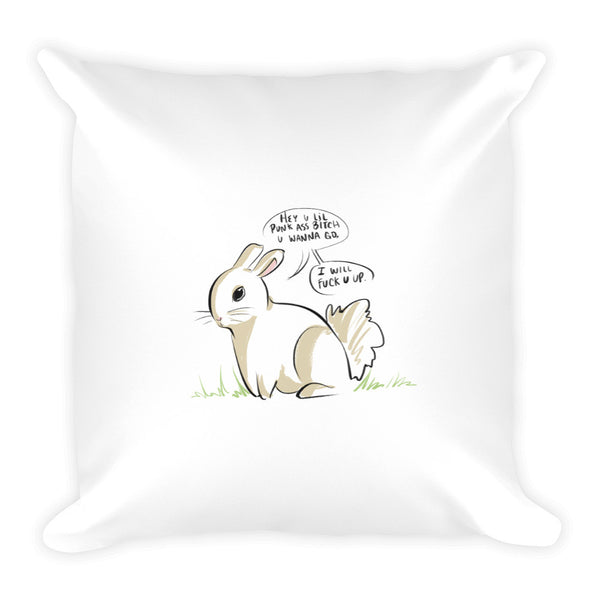 The Bunny Post...The Square Pillow