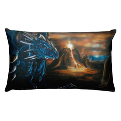 Volcanic Dragon Pillow