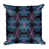 Body Painted Apparel - Square Pillow - Silly Bird