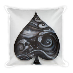 The Face of Spades Pillow