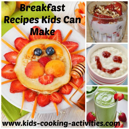 breakfast kids can make