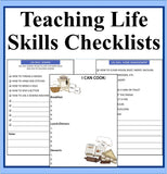 Teaching Life Skills Checklists and Resources