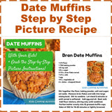 Date Muffins Step by Step Picture Recipe