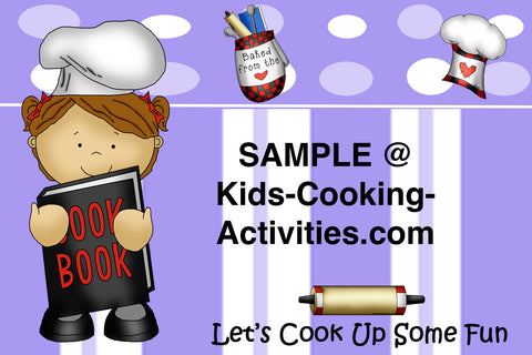Printable Kids Cooking Party Invitation Birthday Chef Theme – Kids Cooking Party Invitations