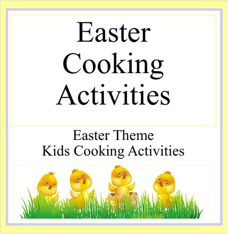 Easter Cooking Activities