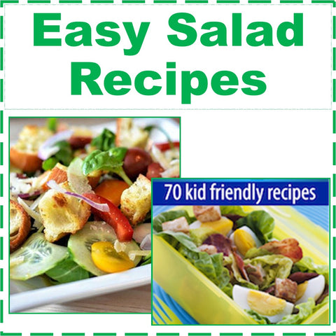 70 Easy Salad Recipes- Salad Cookbook