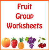 Fruit Group Worksheets