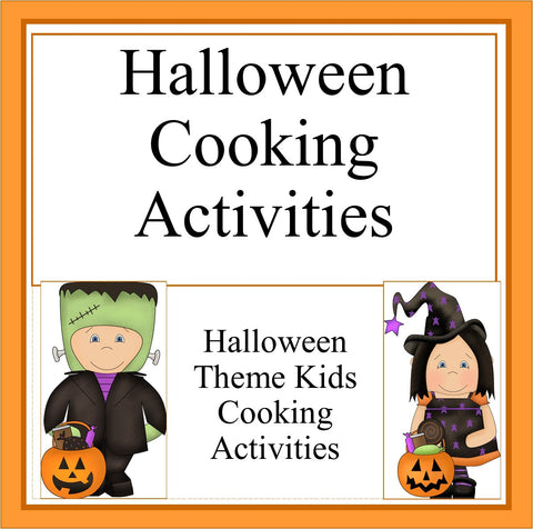 Halloween Cooking Activities