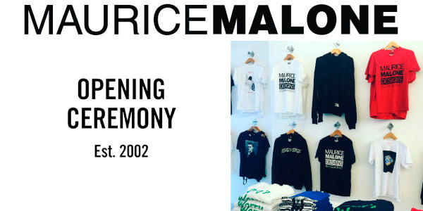 90's Fashion 2016 Style: Iconic T-Shirts by Maurice Malone at: Opening Ceremony