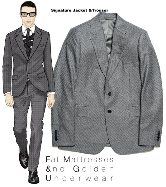 Fashion designer Maurice Malone 2009 design menswear samples for FM&GU