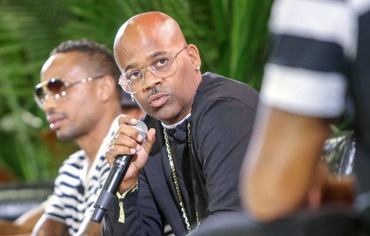 Damon Dash of Roc-A-Fella Records & Rocawear speaks at Assembly, Las Vegas by Liberty Fairs & Agenda Show