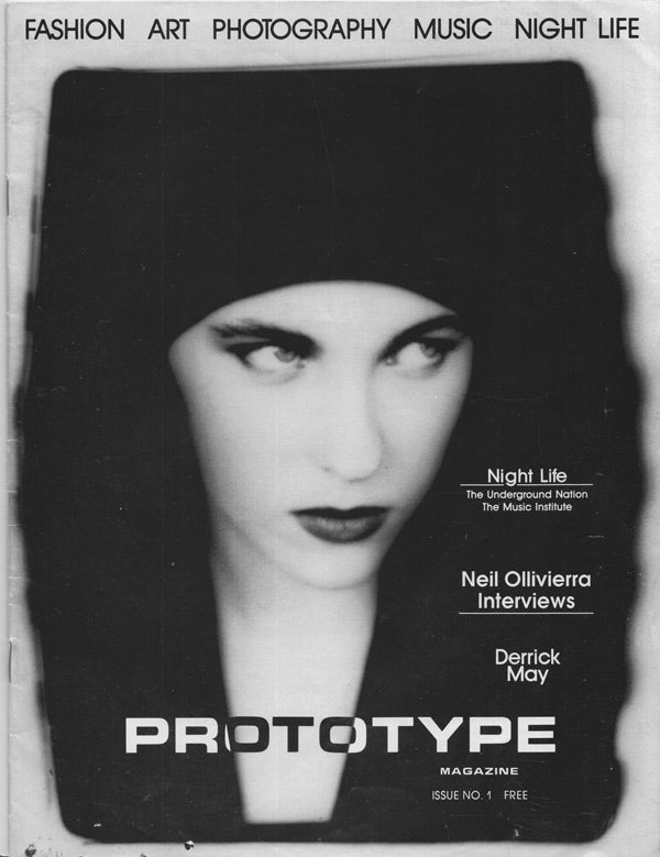 Prototype Magazine, published in Detroit by fashion designer Maurice Malone in 1989