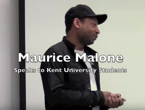 Fashion Designer Maurice Malone photo link to video