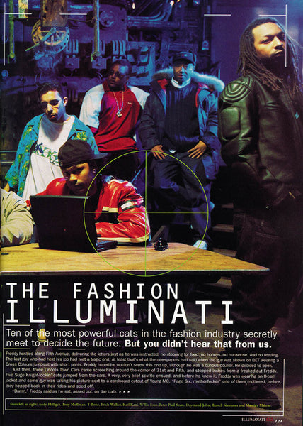 Fashion Illuminati - Willie Esco; Peter Paul Scott; Damond John; Russel Simons; Maurice Malone