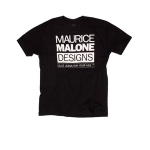 Maurice Malone black 90's hip hop fashion t-shirt