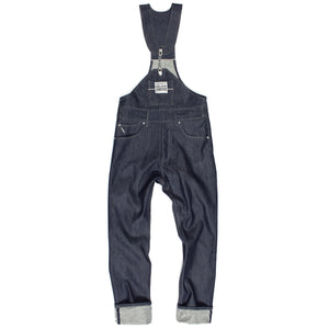 Chain-link Selvedge Denim Overalls
