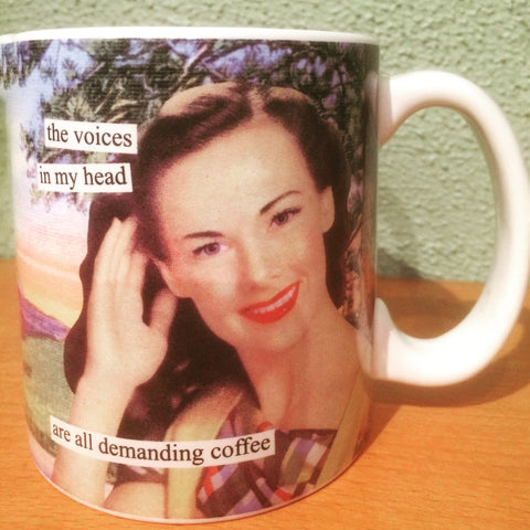 Is ‪#‎caffeine‬ calling you? ‪#‎voice‬ ‪#‎mug‬ ‪#‎fun‬ ‪#‎coffee‬ ‪#‎drink‬ ‪#‎pickmeup‬ ‪#‎phoenicia‬ ‪#‎phoeniciany‬ ‪#‎hudsonvalley‬ ‪#‎upstateny‬ ‪#‎iloveny‬ ‪#‎valentinesday‬ tenderlandhome.com