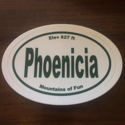 Phoenicia stickers are fun! #summer #iloveny #phoeniciany #phoenicia #upstateny #hudsonvalley #catskills #stickers #hiking #tubing #festivalofthevoice #art check out tenderlandhome.com
