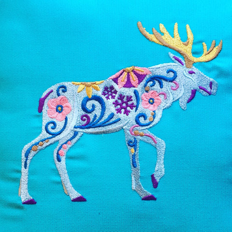 Psychedelic pillow! #homedecor #catskills #iloveny #upstateny #hudsonvalley #phoenicia #phoeniciany #color #embroidery #homeaccents check out tenderlandhome.com