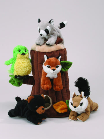 Plush Tree House with Animals