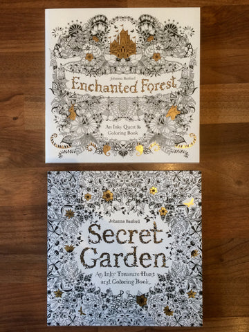 Enchanting Coloring Book Set