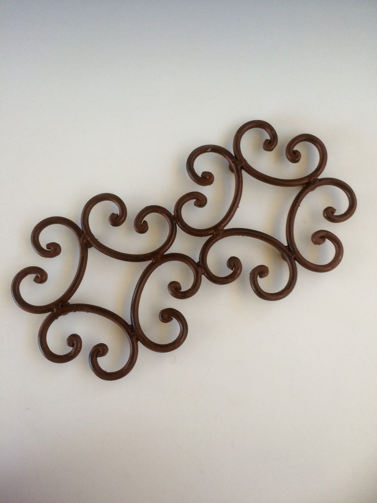 Rustic Iron Double Trivet Tender Land Home gift birthday Mother's Day Christmas cooking tabletop home accessories