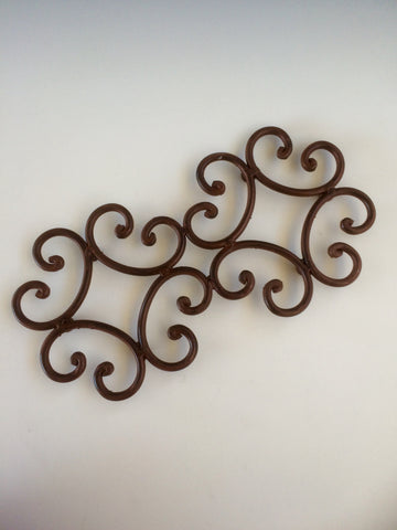 Rustic Iron Double Trivet