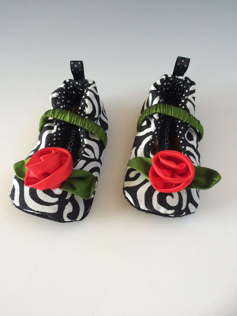 Silk Rose Baby Shoes Tender Land Home gift infant shower