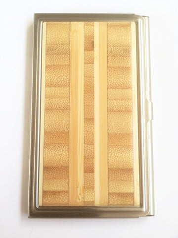 Inlaid Bamboo Card Case