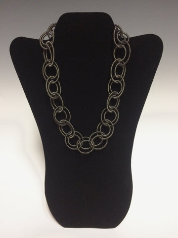 Looped Piano Wire Necklace