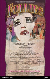 "Kennedy Center ""Follies"" Poster (Circa 2011)"