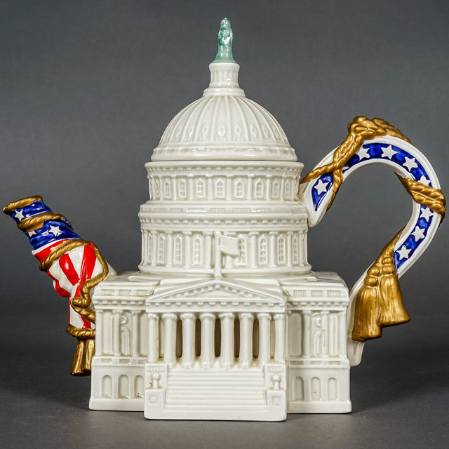 Famous Landmarks of the World Series Teapot – U.S. Capitol Building