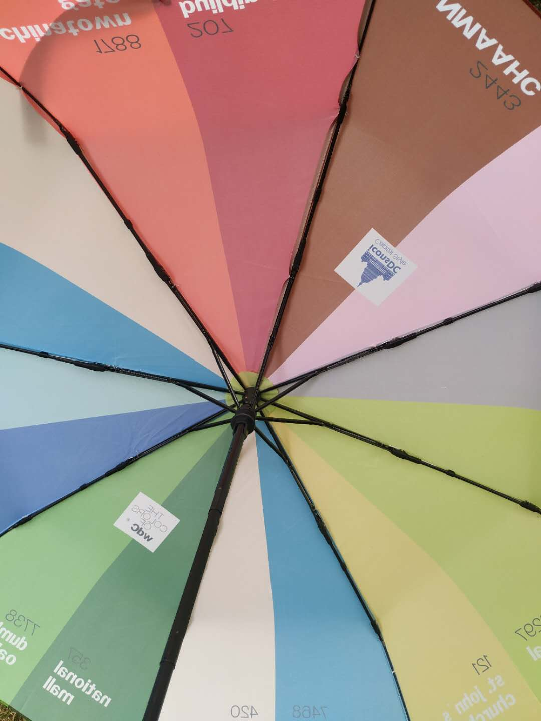 """Colors of Washington"" Umbrella"