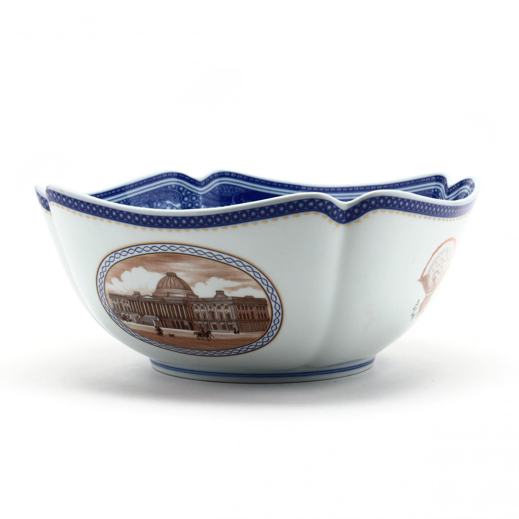 "The ""Washington DC"" Bowl by Mottahedeh (Circa 1970's)"