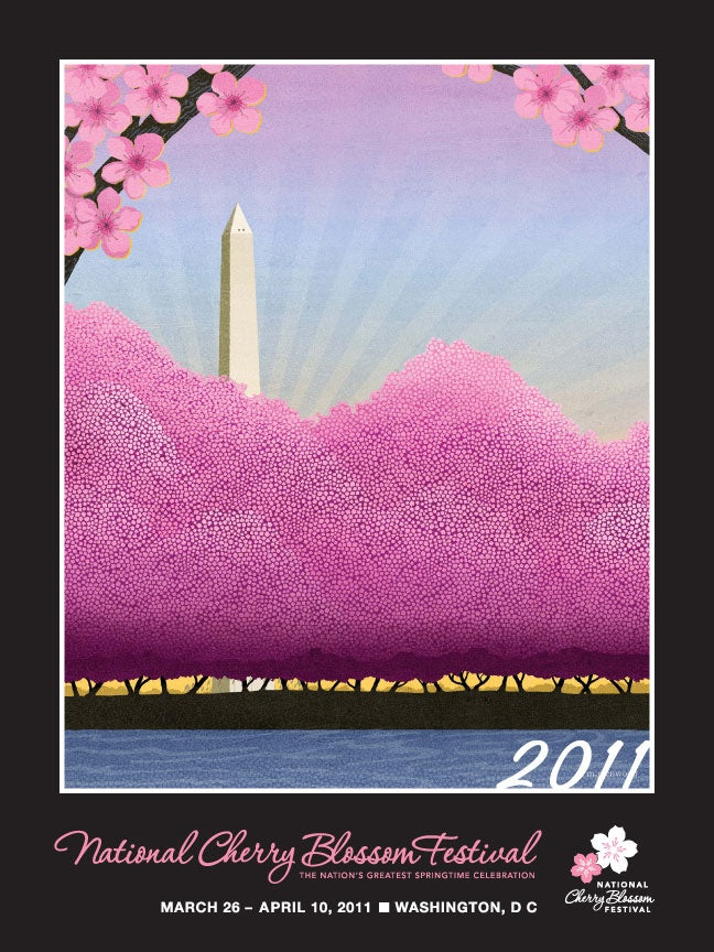 National Cherry Blossom Festival Official Poster (2011)