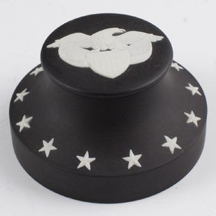Wedgwood Black Bassalt Eagle Paperweight