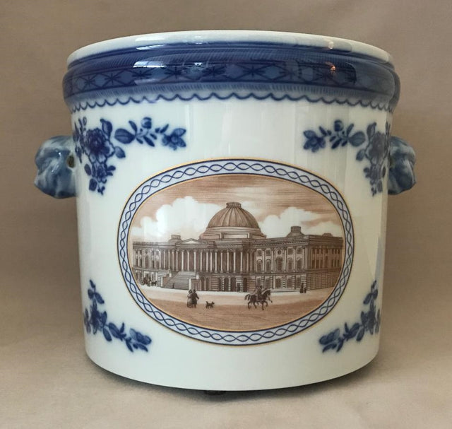 """Washington DC"" Cache Pots (Circa 1970's)"