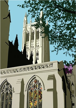 """Cathedral View"" by J. C. English"