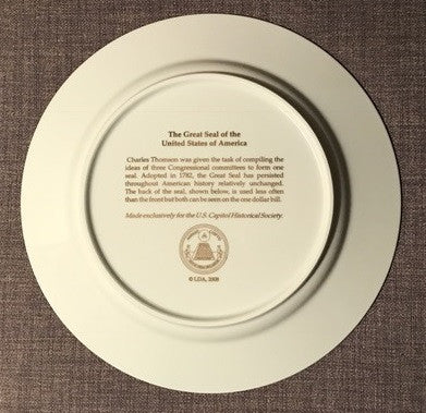 Great Seal Porcelain Charger